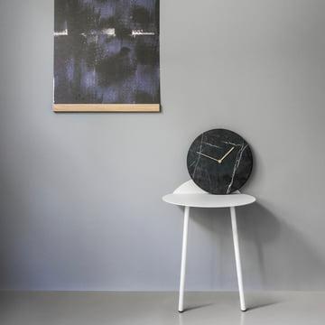 Menu - Mellem Frame, Marble Wall Clock