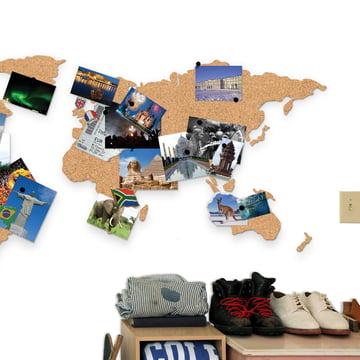 Luckies - Corkboard Map