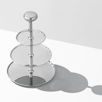 Georg Jensen - Alfredo Etagére, stainless steel