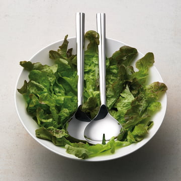 Grand Cru Salad Servers and Glass Bowl by Rosendahl
