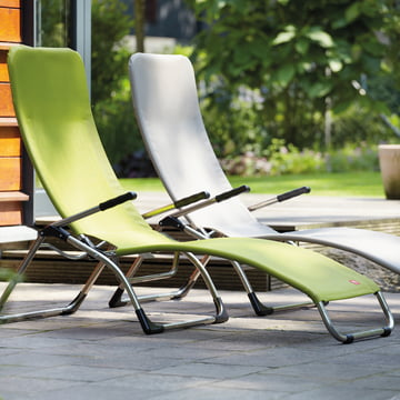 Terrace lounger Samba from Fiam