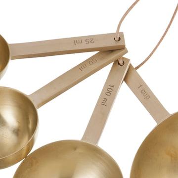 ferm living - Measuring Spoons, brass