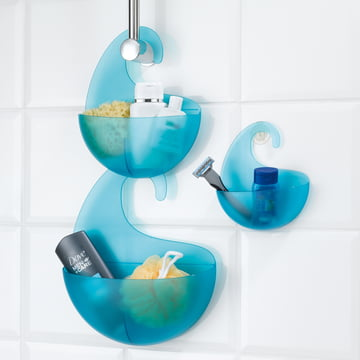 Surf Bath Utensilo with hook by Koziol