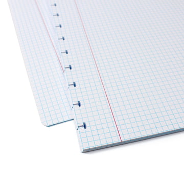 Atoma - Refill pack for the Basic notebook, chequered refill pages