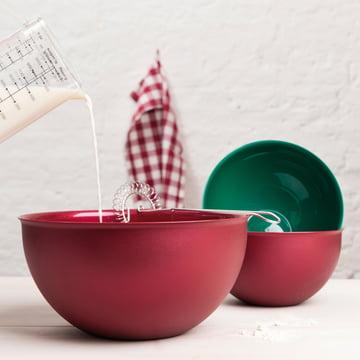 Koziol - Palsby bowl, bordeaux / pine