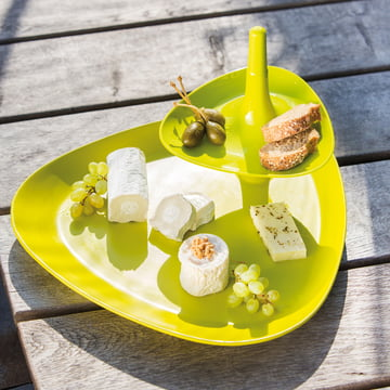 Koziol - Betty Tray, mustard green