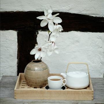 Nordic-style tea ceremony