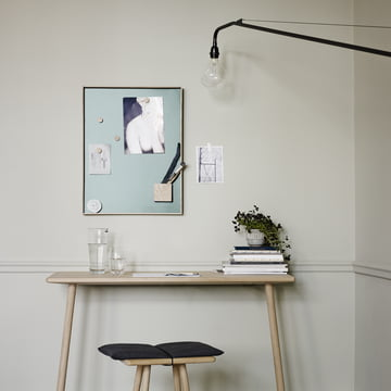 Elegant pin board for the workspace