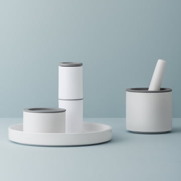 Functional everyday aids in grey-white
