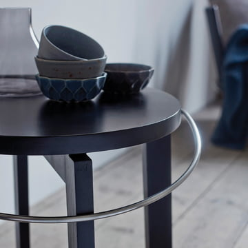 Pilgrim stool by Norrmade in black
