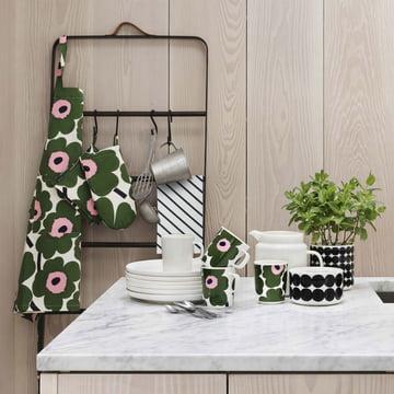 Various kitchen utensils by Marimekko