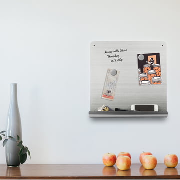 Writable magnetic board to be used at home
