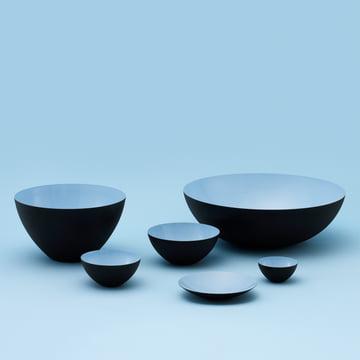 Normann Copenhagen - Krenit bowl, light blue