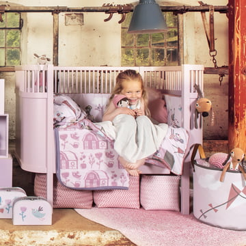 Farm Collection by Sebra for girls with the Kili bed