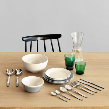 Scandia serving cutlery and table cutlery by Iittalla