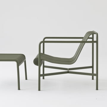 The Palissade lounge chair low by Hay