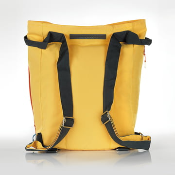 Tane Kopu Beach Backpack by Terra Nation in yellow