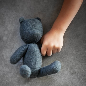 The Teddy from Menu - Nepal Projects in teal