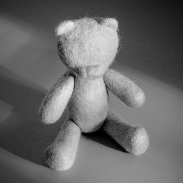 The Teddy from Menu - Nepal Projects in light grey