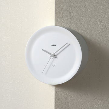 Formally pure and non-decorative Wall Clock