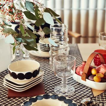simple tableware by Marimekko