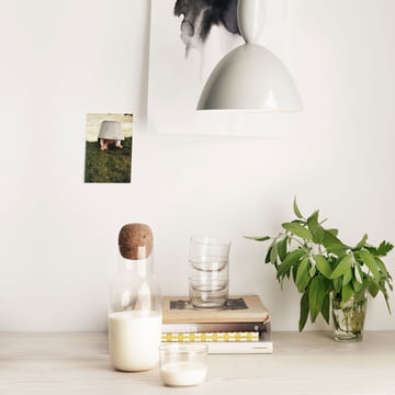 Corky Carafe and Glass by Muuto