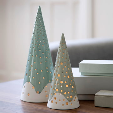 Nobili tea light holder cone by Kähler Design