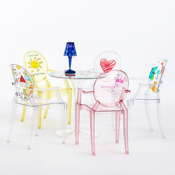 Lou Lou Ghost Special Edition and Tip Top Children's Table by Kartell