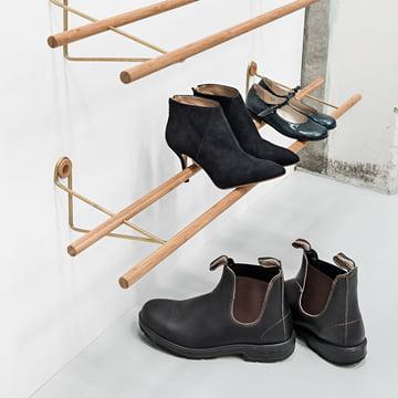 Shoe Rack by Sebastian Jørgensen for We Do Wood
