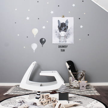 Rocking Horse by Jupiduu in White Butterfly