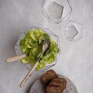 Glass Bowl Penta by Rosendahl