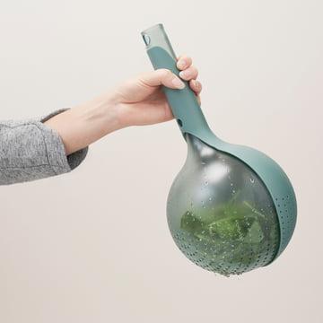 Rig-Tig by Stelton - Drop colander, green