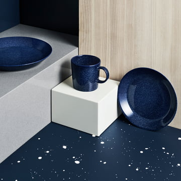 Teema by Iittala in Speckled Blue