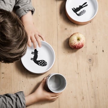 Porcelain Bowl Landscape by ferm Living