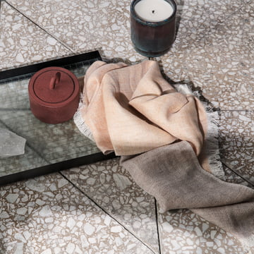 Blend Dishcloth, Haze Tray and Buckle Container by Ferm Living