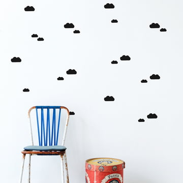 Mini Clouds Wall Stickers by ferm Living