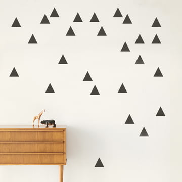 Mini Triangle Wall Stickers by ferm Living