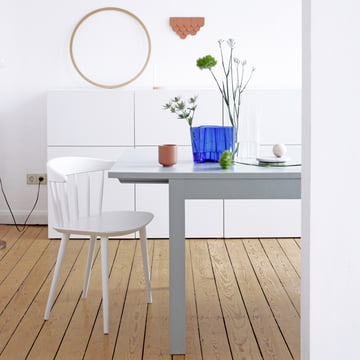 Blue Aalto Vases by Iittala as Table Decorations
