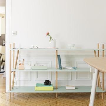 The Simone Bookshelf with the Charlie Series