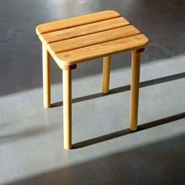 Tavern Stool H 46 cm by Auerberg in Oak