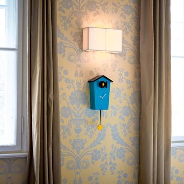 KooKoo - Bird House Cuckoo Clock, Petrol (limited edition)