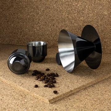 Brew V60 Espresso Gift Set by Tom Dixon with Espresso Beans
