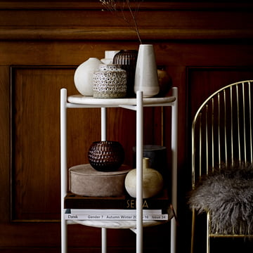 Suede Storage Boxes by Bloomingville