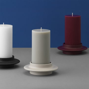 normann copenhagen heima big candles holder. Black Bedroom Furniture Sets. Home Design Ideas