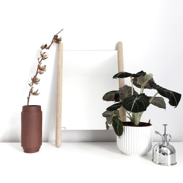 The Georg table mirror by Skagerak staged by Sarah