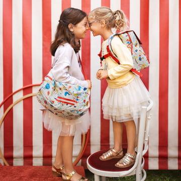 reisenthel - mini maxi dufflebag S kids, circus and backpack kids, circus