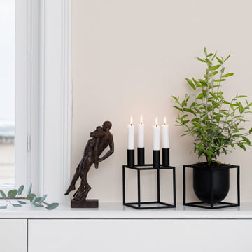 Architectural Candleholder from by Lassen