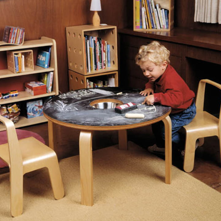 Look Me Children's Chair & Woody Chalkboard Table