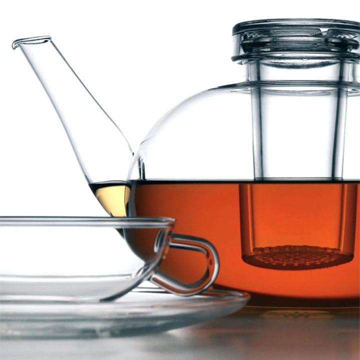 Wagenfeld tea pot & tea cup