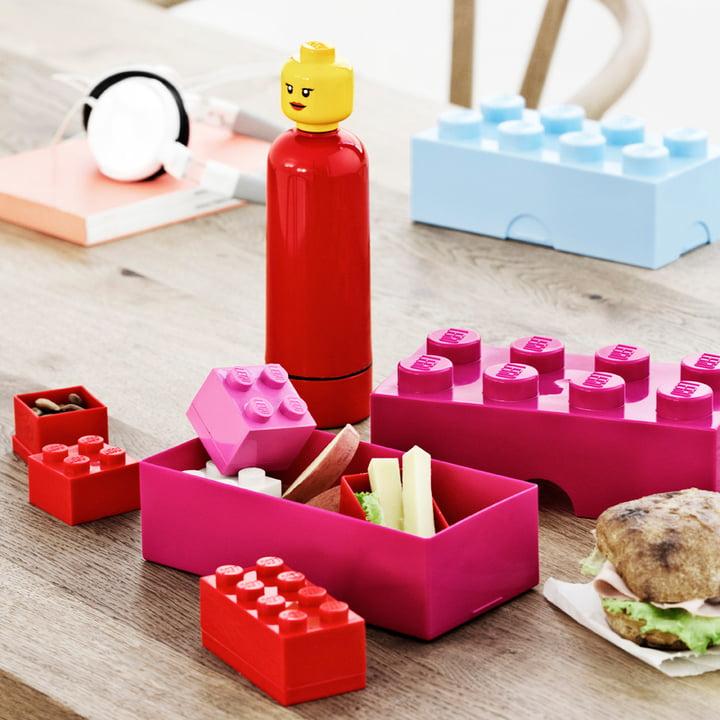 Lego - Lunch Box, Drinking Bottle